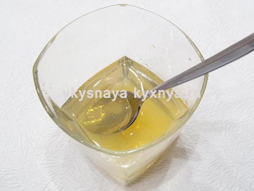 Растворенный в воде желатин