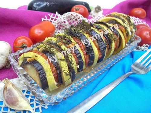 Как приготовить овощной рататуй в духовке в домашних условиях
