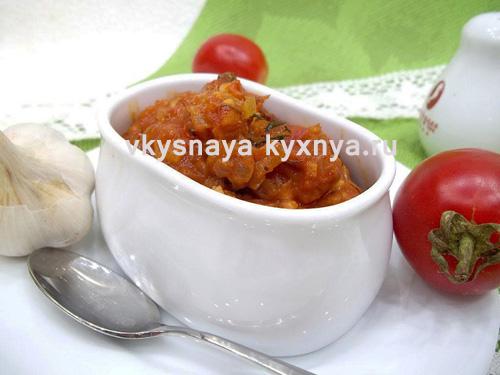 домашний томатный соус из помидоров