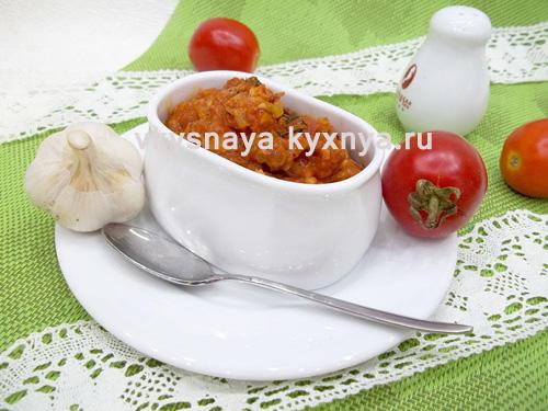 Как приготовить домашний томатный соус из помидоров