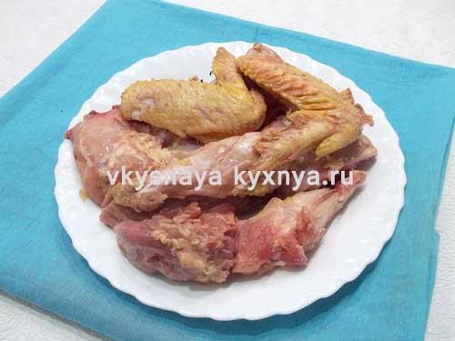 азербайджанские рецепты блюд из курицы