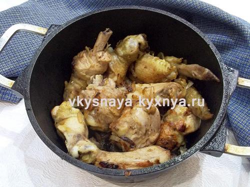 Как приготовить фрикасе из курицы