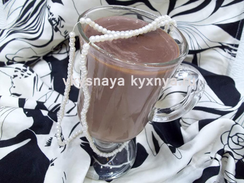 Как приготовить горячий шоколад в домашних условиях