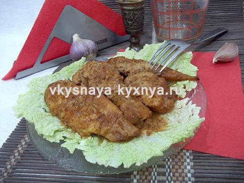 Фрикасе из курицы. Рецепт с фото пошагово
