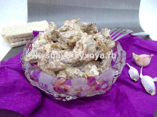 Бефстроганов из свинины со сметаной, рецепт с пошаговыми фотографиями