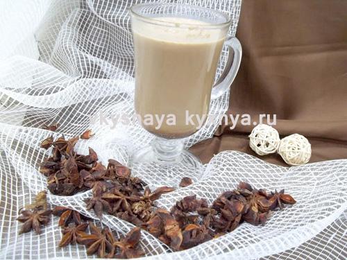 Горячий напиток какао с кофе, коньяком и пряностями, согреет вас в холодный день