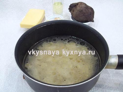 Как приготовить пасту со свеклой и сыром