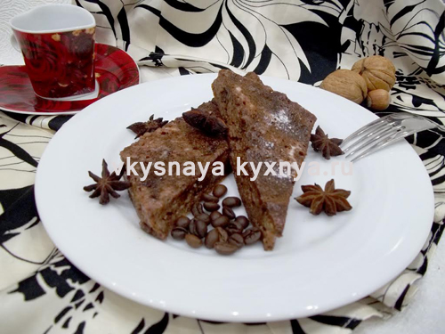 Творожно-шоколадная запеканка рецепт