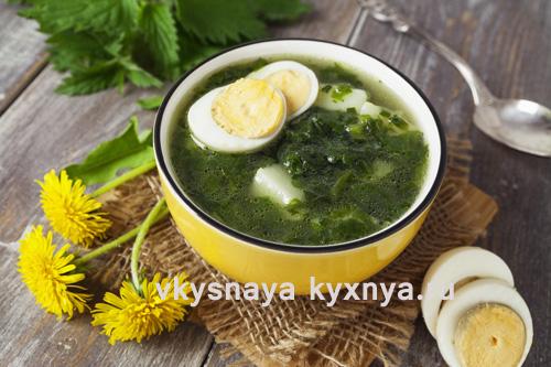 Легкие летние супы