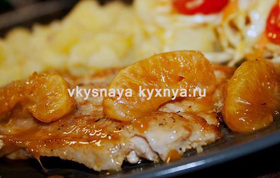 Вкусные и сочные отбивные из свинины: рецепт в апельсиновом соусе