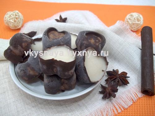 Как сделать шоколадные конфеты в домашних условиях: рецепт с желейной начинкой