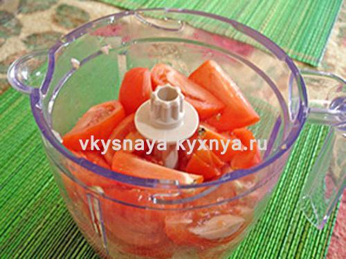 Соус из помидор и лука на зиму