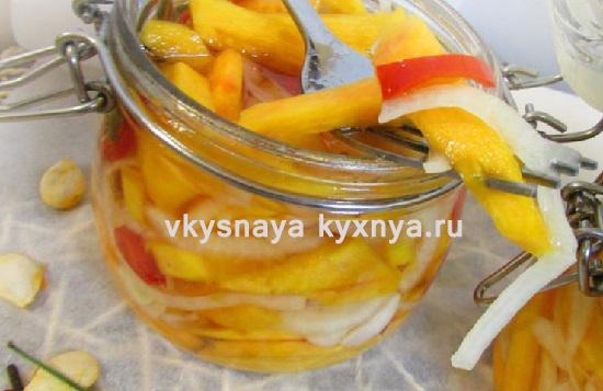 Салат из тыквы на зиму: острая закуска без стерилизации