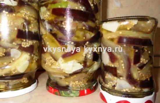 Баклажаны запеченные в духовке: рецепт на зиму