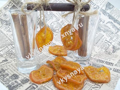 Цукаты из мандаринов в духовке: рецепт с пошаговыми фотографиями