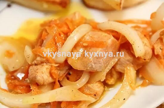 Хе из моркови по-корейски: острый салат с рыбой