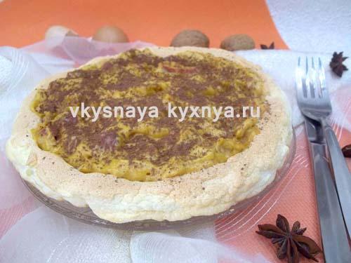 Торт безе в домашних условиях: рецепт с фото пошагово
