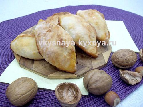 Пирожки на кефире с вареньем: пошаговый рецепт (17 фото)