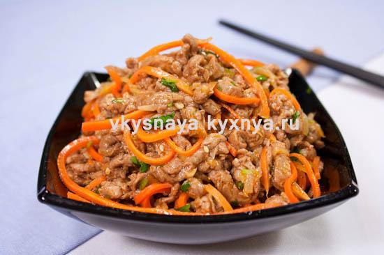 salat-he-iz-myasa-s-morkovyu-po-koreyski