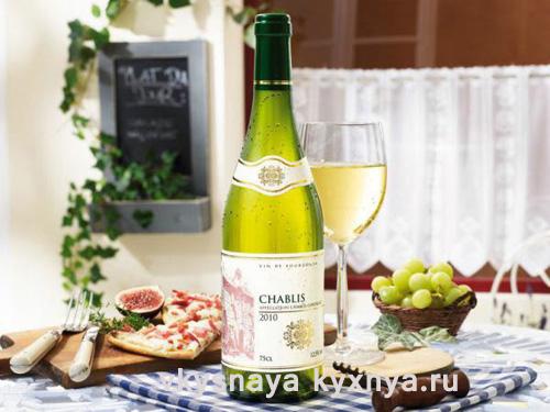 Белое сухое вино Шабли (Chablis): зеркало Франции