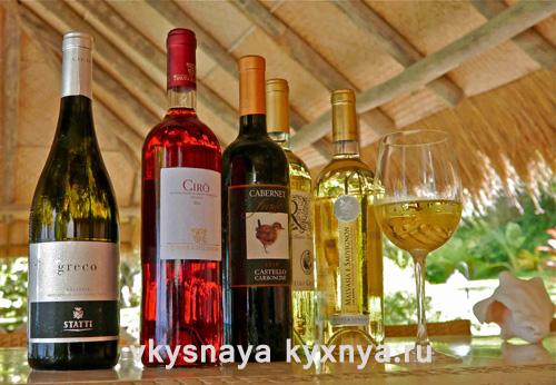 Классификация вин по категориям, как подавать вино на стол