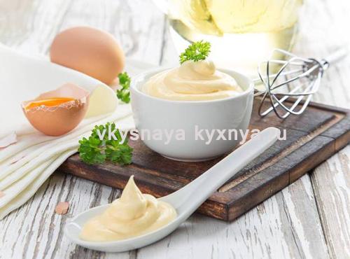 Домашний майонез: вкусный соус за 2 минуты