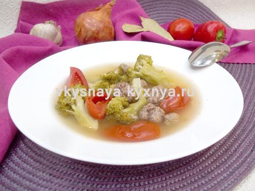 Томатный суп с фрикадельками: рецепт с пошаговыми фото