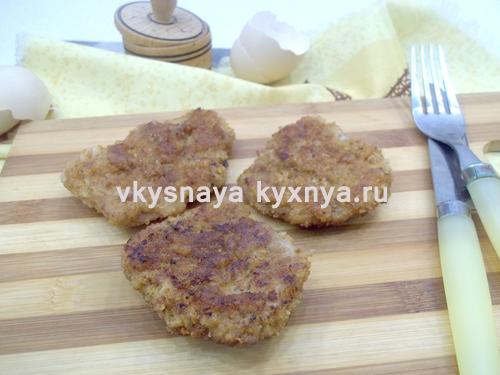 Ромштекс из свинины: рецепт с пошаговыми фото