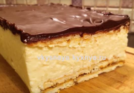 """""""Баунти"""": рецепт вкуснейшего торта без выпечки за 15 минут!"""
