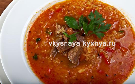 Суп харчо в домашних условиях: классический рецепт