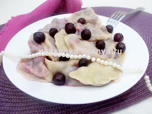 Вареники с вишнями: рецепт с пошаговыми фото. Секреты приготовления вкусных вареников