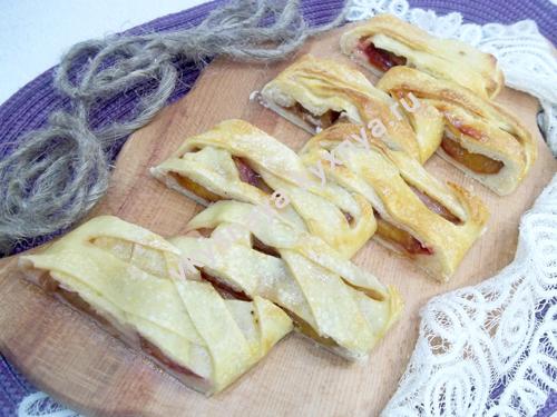 Дрожжевой пирог со сливами в духовке