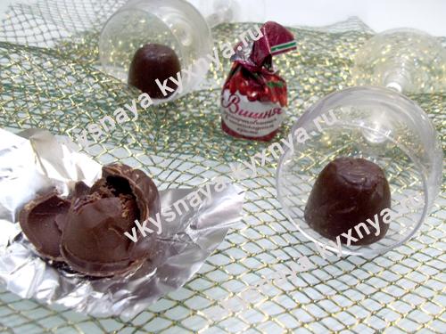 Конфеты пьяная вишня: рецепт с пошаговыми фото