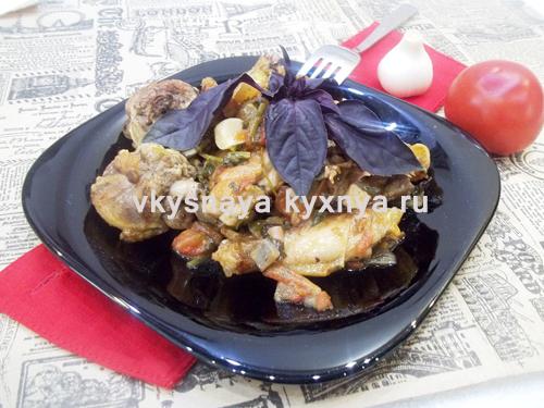 Курица по-болгарски (яхния): рецепт с фото пошагово
