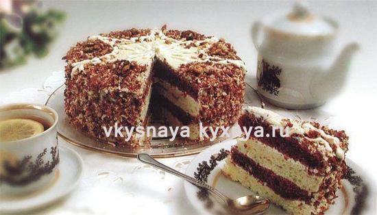 "Торт ""Машенька"": рецепт со сгущенкой"