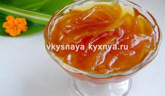 Варенье из груш на зиму дольками со стерилизацией