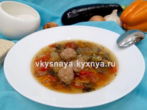 """Итальянский овощной суп """"Минестроне"""": классический рецепт"""