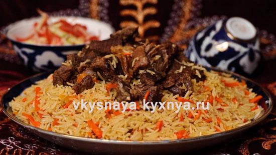 Как приготовить настоящий узбекский плов