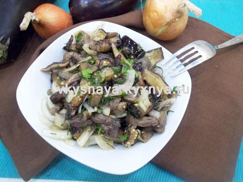 Баклажаны маринованные с грибами: рецепт быстрой и вкусной закуски