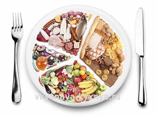 Пять правил раздельного питания